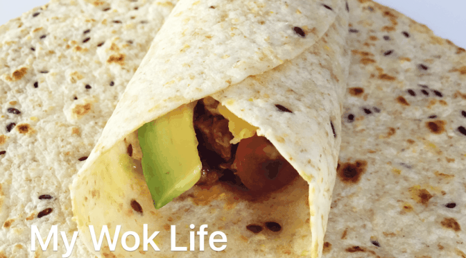 Creamy Curry Pork 6-Grain Wrap