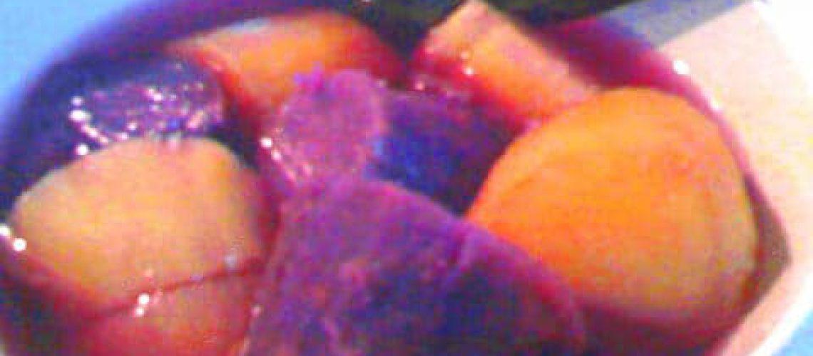 Sweet potatoes soup