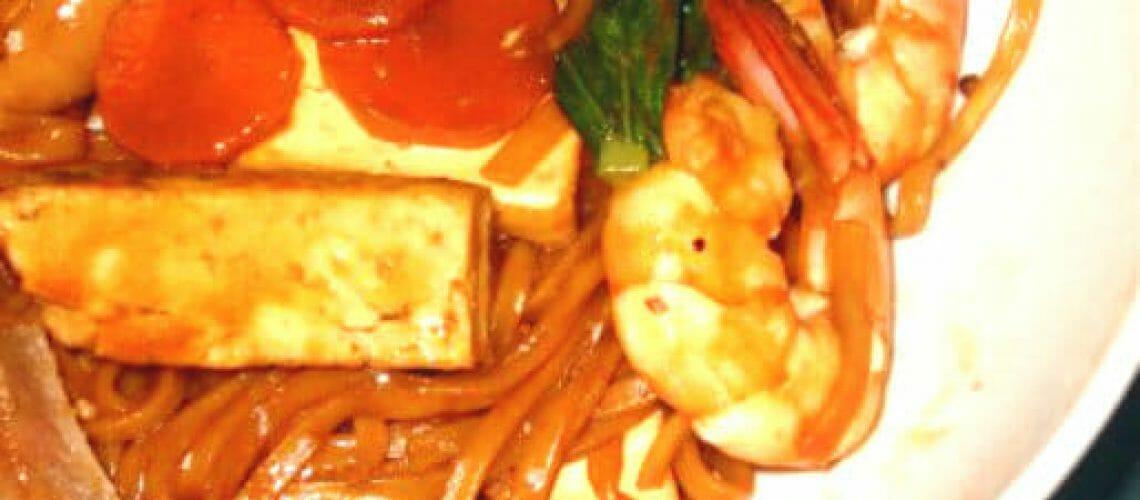 Braised Assorted Ee Fu Noodles 焖什锦伊面 My Wok Life