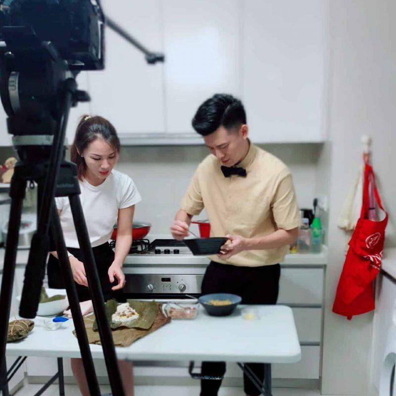 MyWokLife MediaCorp Filming