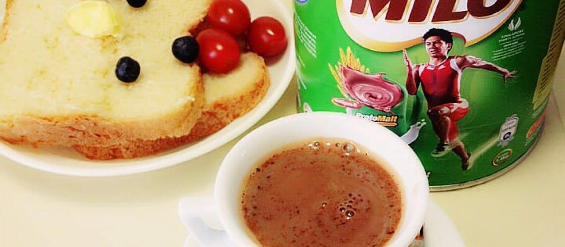 Milo breakfast