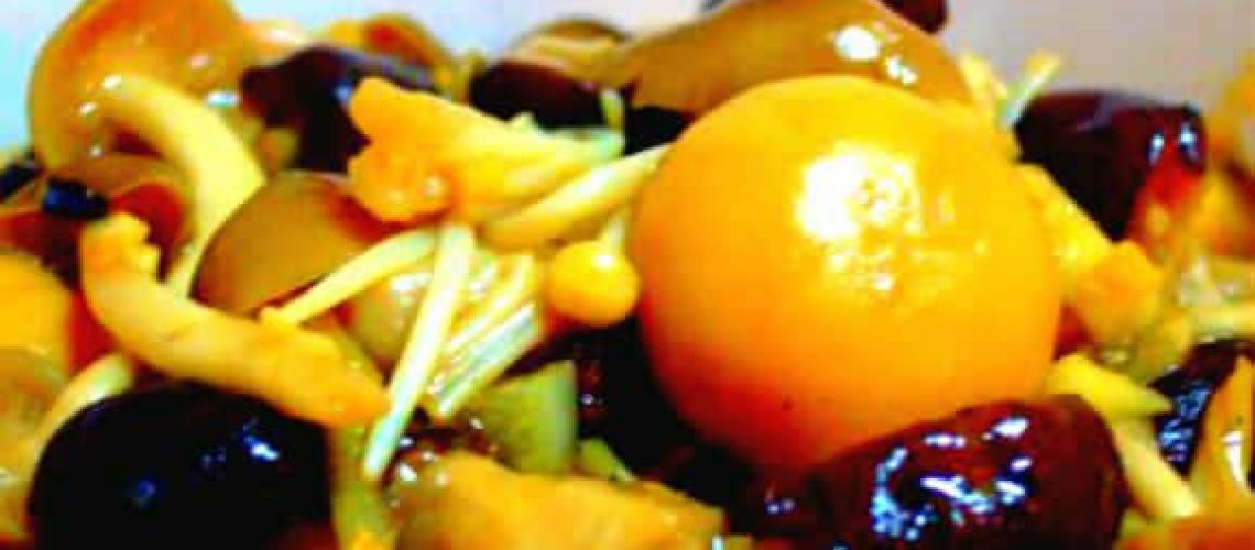 Stir-fried Assorted mushroom