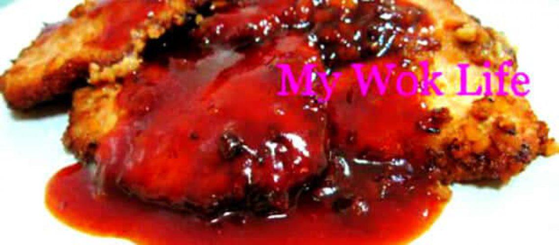Honeymato pork chop