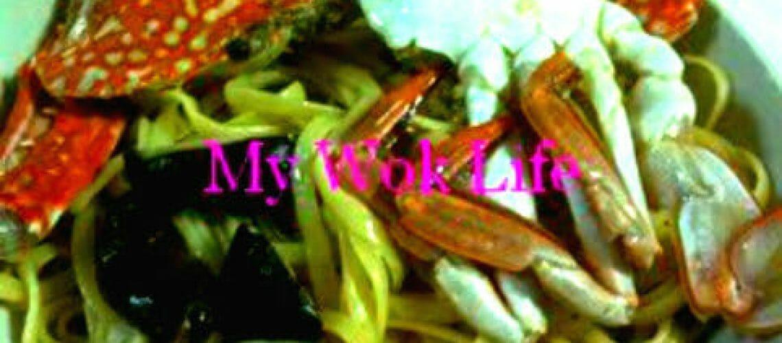 Flower Crab Linguine Pasta