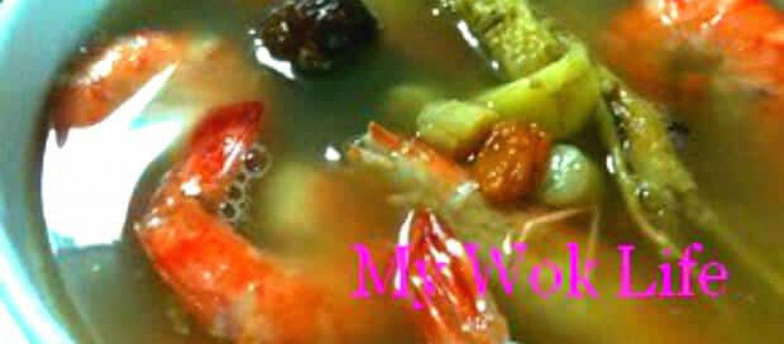 Ginseng Prawn Herbal Soup