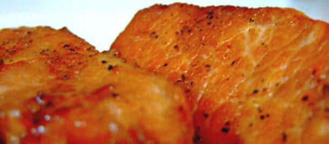 pan-fried pork chop